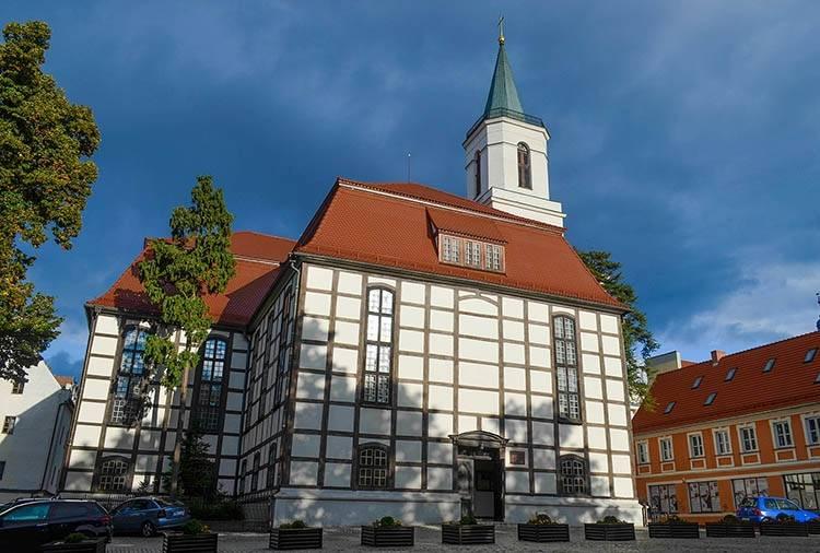 Kościół Matki Boskiej Częstochowskiej Zielona Góra ciekawostki