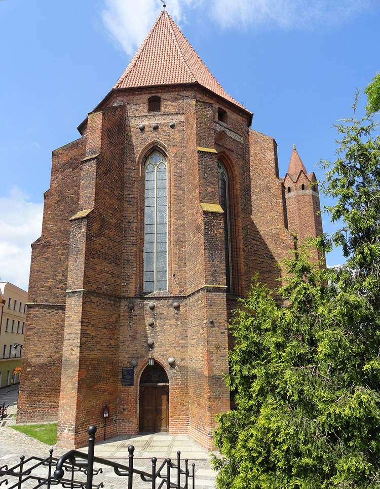Kwidzyn ciekawostki zabytki katedra