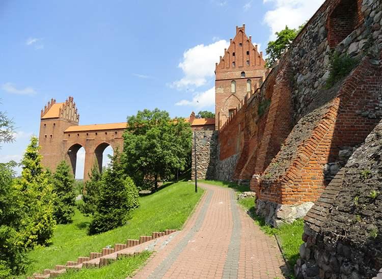 Kwidzyn ciekawostki zabytki zamek gdanisko