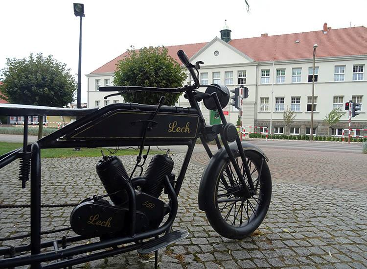 motocykl Lech Opalenica ciekawostki