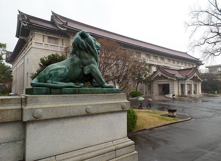 Muzeum Narodowe Tokio Japonia Japan museums muzea w Japonii