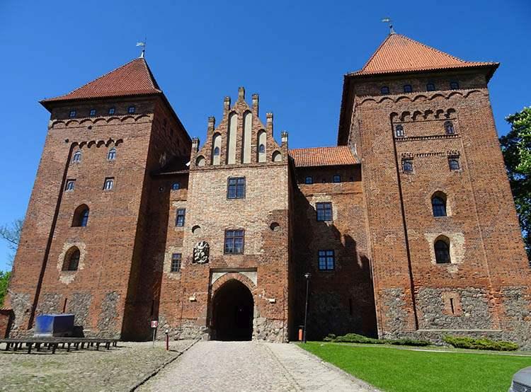 Nidzica ciekawostki zamek krzyżacki