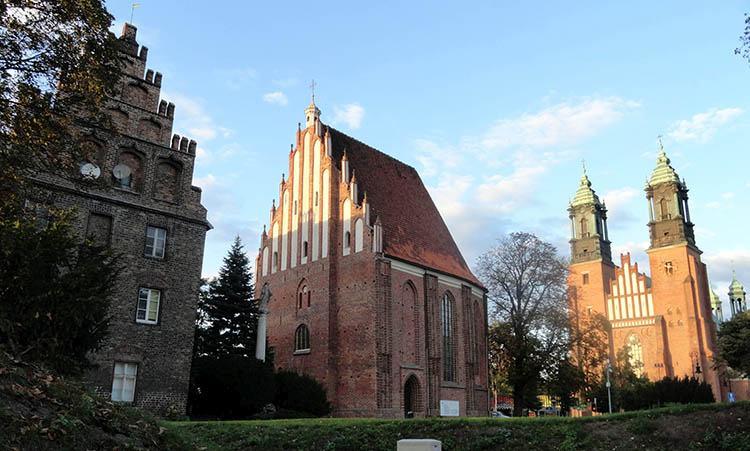 Katedra Psałteria kościół  Ostrów Tumski Poznań ciekawostki