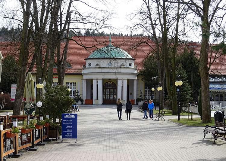 Pijalnia Park Zdrojowy Polanica-Zdrój ciekawostki atrakcje co zobaczyć