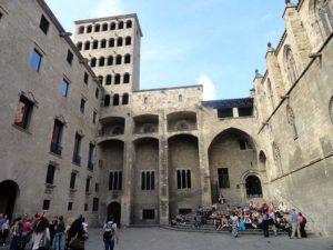 Placa de Rei Barcelona ciekawostki