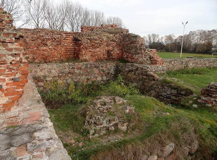 Rawa Mazowiecka ciekawostki zamek