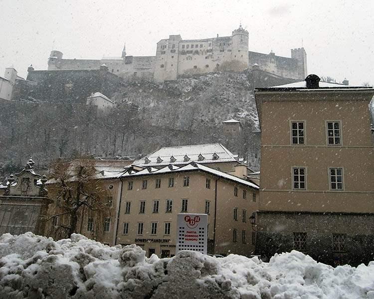 Salzburg Twierdza Hohensalzburg Austria ciekawostki