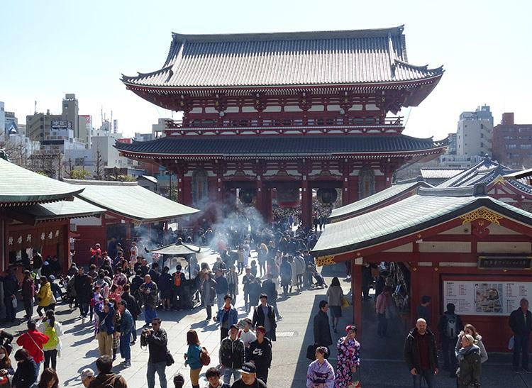 Senso-ji świątynia Sensoji Kannon Asakusa Tokio Japonia