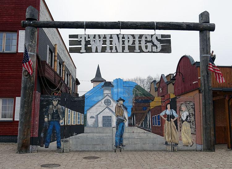 Twinpigs miasto Żory ciekawostki historia atrakcje