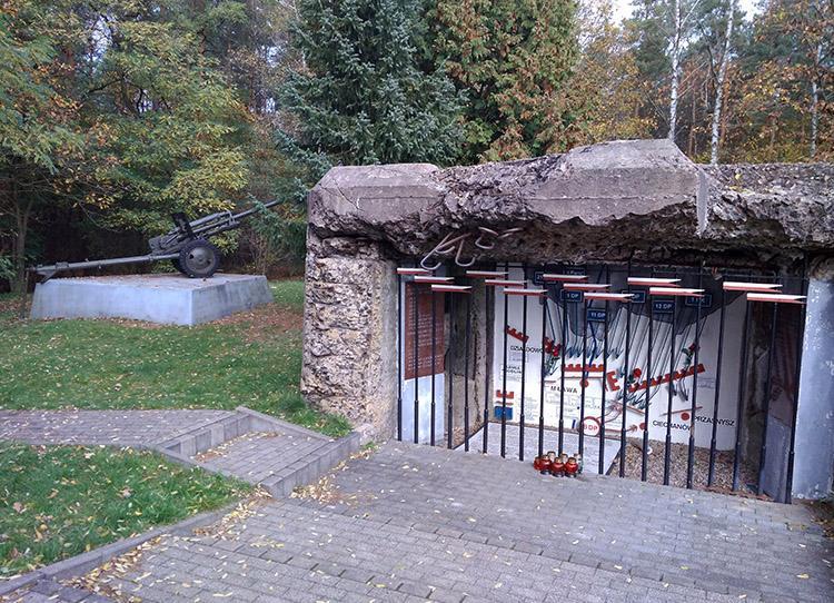 bunkier Uniszki Zawadzkie Bitwa pod Mławą Mława ciekawostki