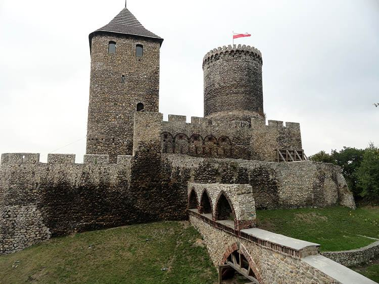 ciekawostki Będzin zamek w Będzinie województwo śląskie ciekawostki