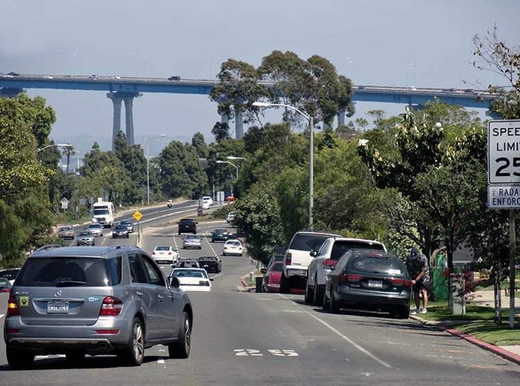 San Diego Coronado Bay Bridge ciekawostki atrakcje Kalifornia