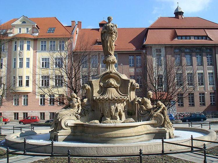 fontanna Ceres Opole ciekawostki zabytki atrakcje