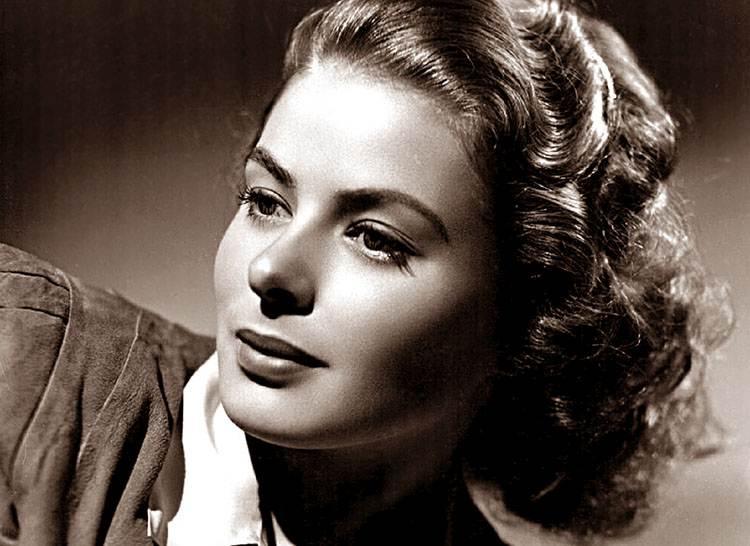 Ingrid Bergman aktorka szwedzka Szwecja ciekawostki