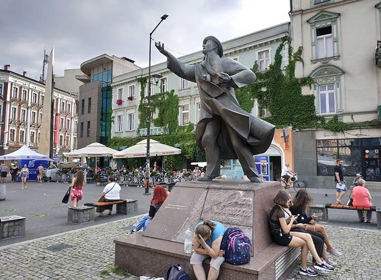 Jan Kiepura pomnik Patelnia Sosnowiec ciekawostki atrakcje