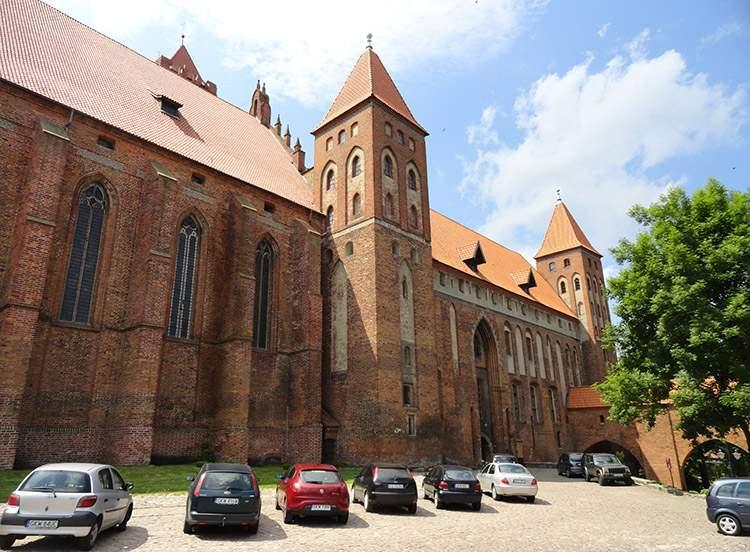 Kwidzyn ciekawostki zabytki zamek katedra