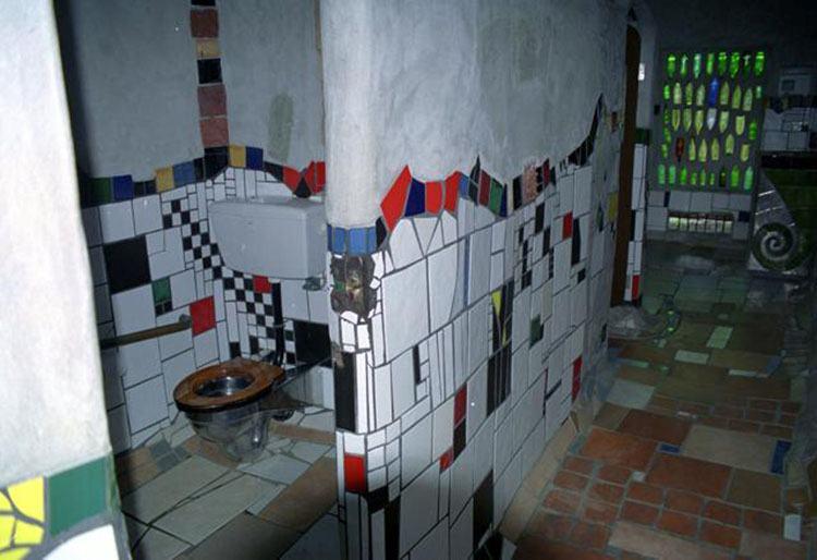 kibel toaleta Kawakawa Nowa Zelandia