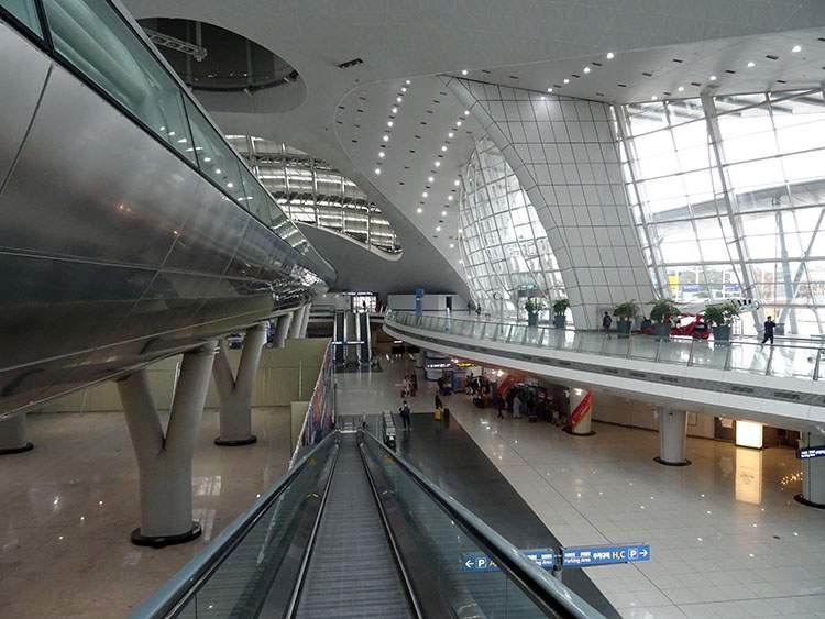 lotnisko Incheon Korea Południowa poradnik podróże
