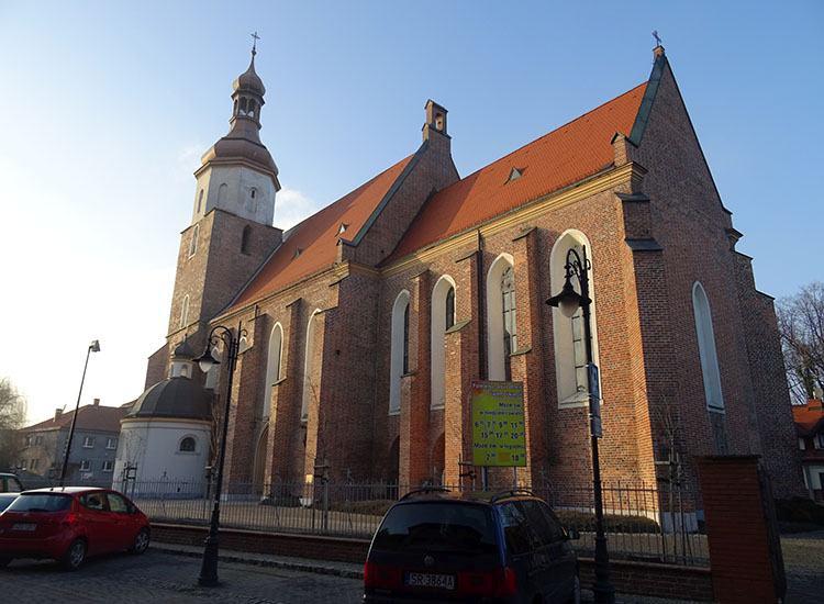 kościół św. Filipa Jakuba miasto Żory ciekawostki historia atrakcje
