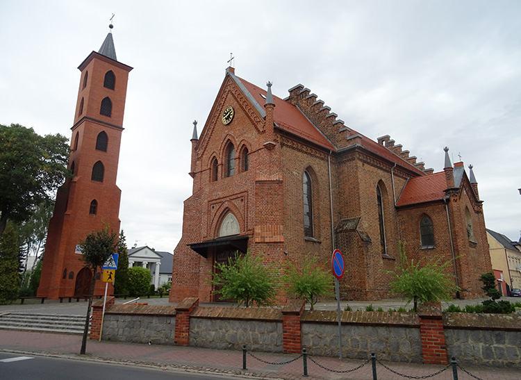 kościół Opalenica ciekawostki