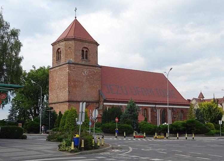 kościół Sulęcin ciekawostki atrakcje zabytki