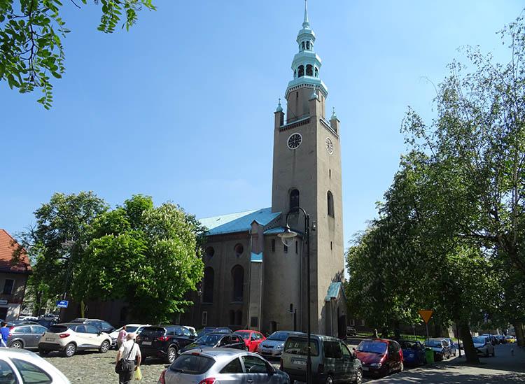 kościół Tarnowskie Góry ciekawostki zabytki atrakcje