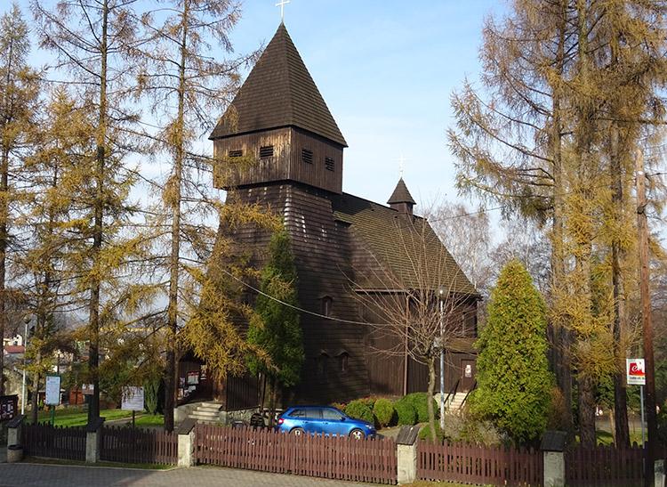 Kościół drewniany Jastrzębie Zdrój ciekawostki