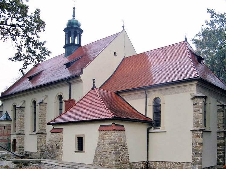 kościół Sucha Beskidzka ciekawostki