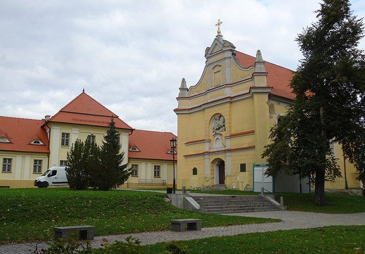 kościół św. Jerzego Gniezno ciekawostki atrakcje zabytki