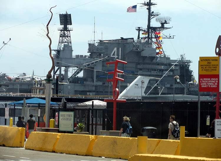 lotniskowiec USS Midway San Diego ciekawostki atrakcje