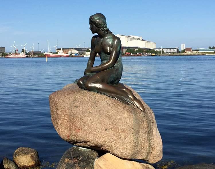Mała Syrenka Kopenhaga syrena ciekawostki syrena syreny