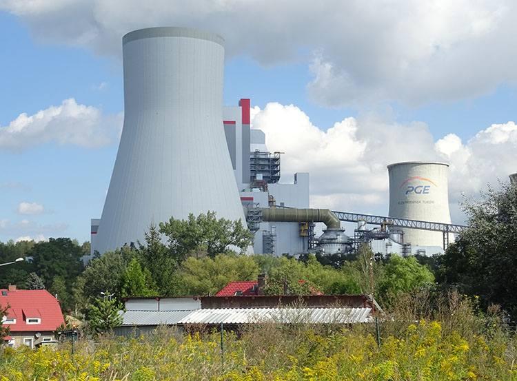 miasto Bogatynia ciekawostki informacje elektrownia