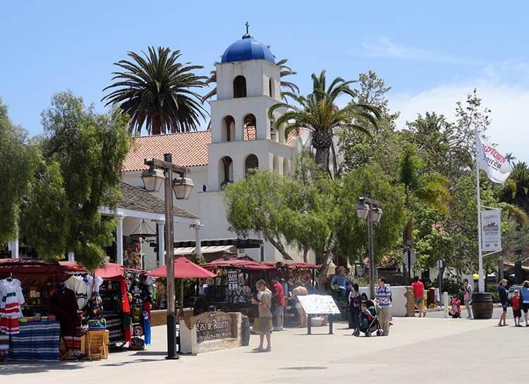 Old  Town San Diego Historic Park ciekawostki