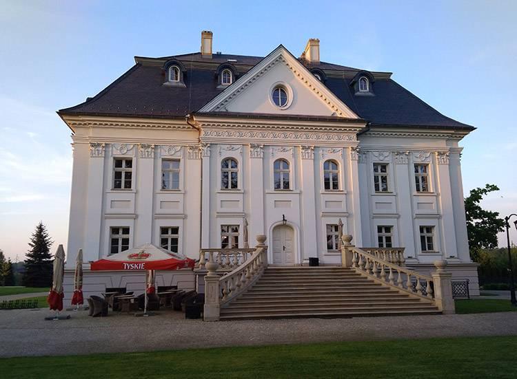 pałac Borynia Jastrzębie Zdrój ciekawostki zabytki
