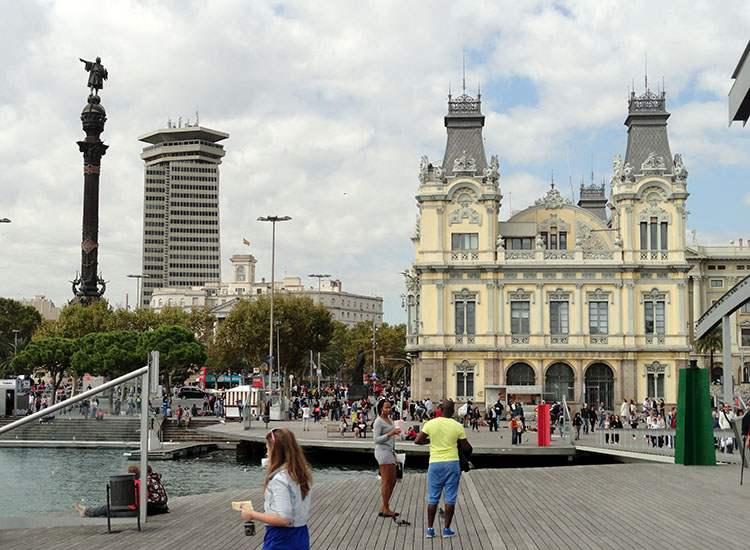 pomnik Kolumba Barcelona ciekawostki