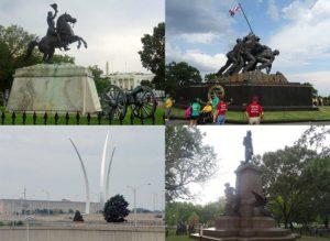 pomniki Waszyngton USA pomnik ciekawostki