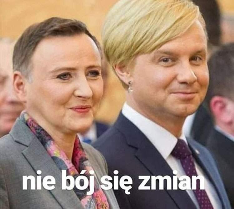 Agata prezydent Andrzej Duda memy satyra humor śmieszne obrazki