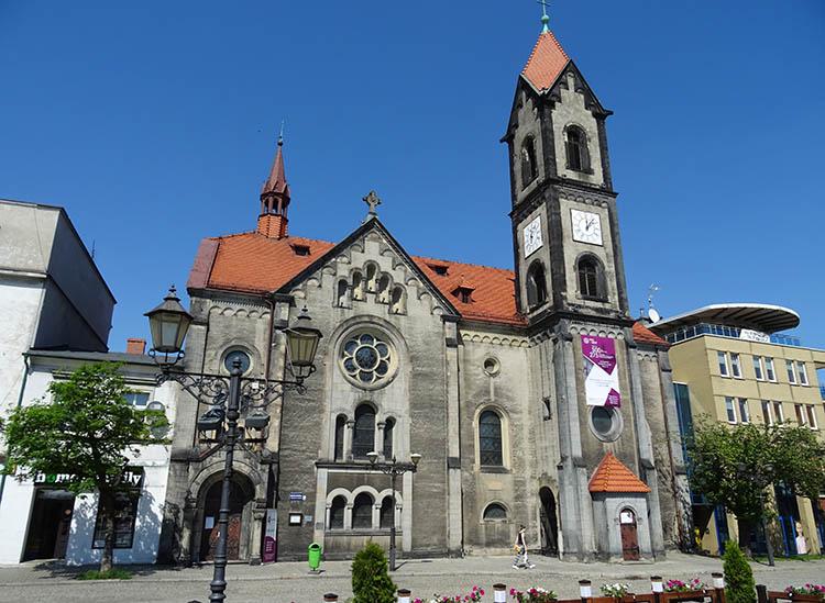 Kościół Zbawiciela Tarnowskie Góry ciekawostki zabytki atrakcje