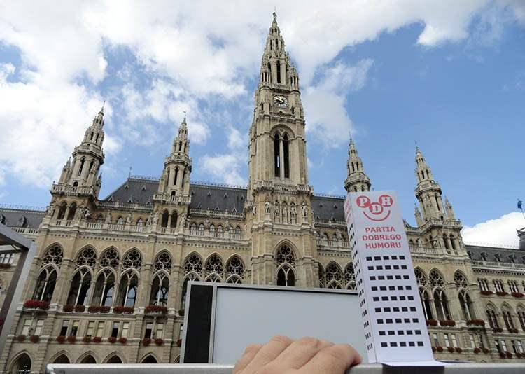 ratusz Wiedeń Austria ciekawostki
