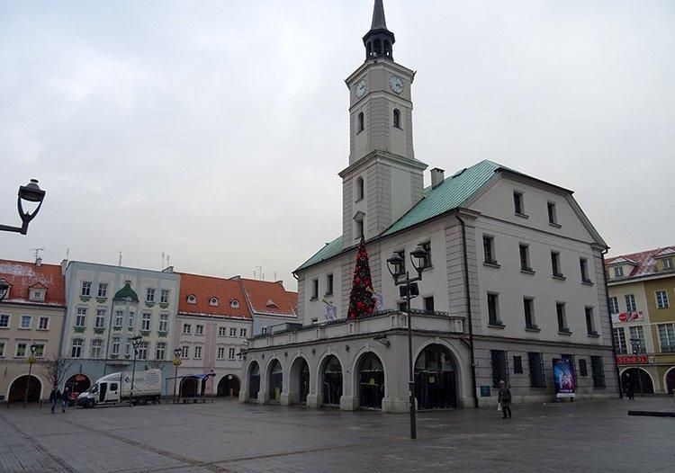 ratusz rynek Gliwice ciekawostki atrakcje zabytki
