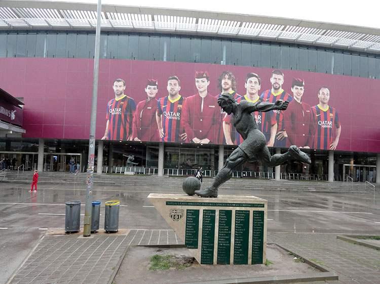 stadion Camp Nou FC  Barcelona ciekawostki