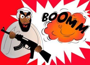 terroryzm humor terroryści dowcipy o terrorystach kawały bomby