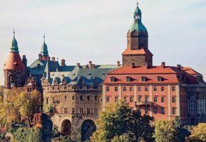 zamek Książ Wałbrzych ciekawostki