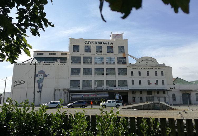 Creamoata fabryka platków owsianych Gore ciekawostki Nowa Zelandia