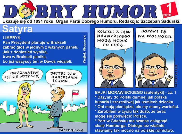 Dobry Humor dowcipy satyra