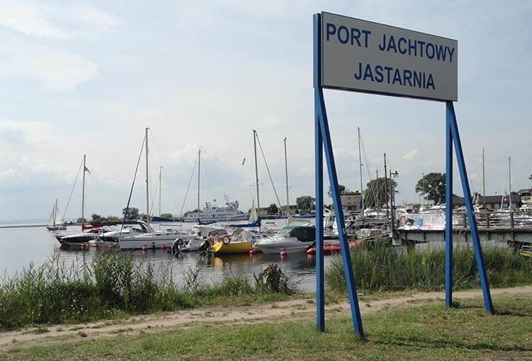 port jachtowy Jurata Jastarnia ciekawostki