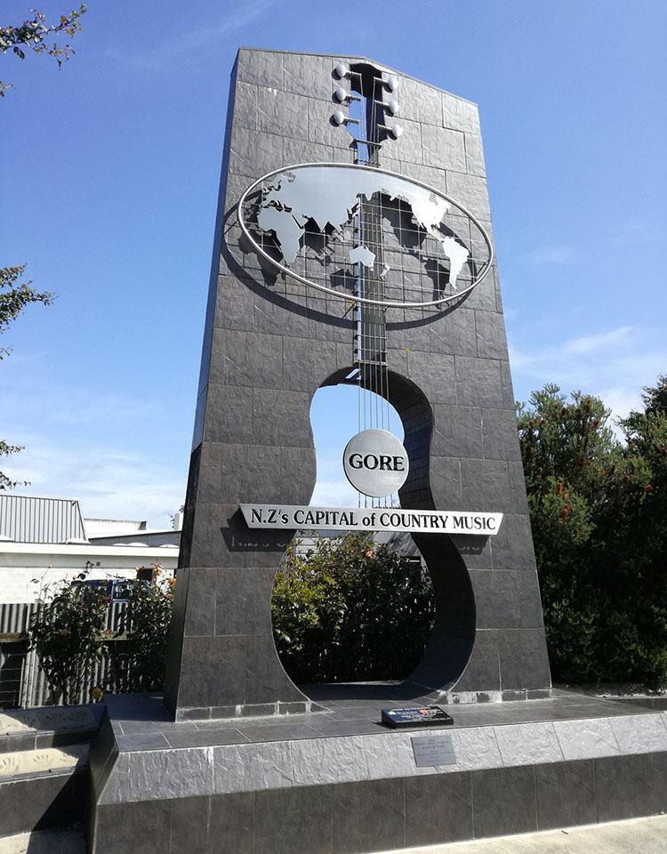 country Gore ciekawostki Nowa Zelandia atrakcje
