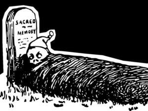 czarny humor cmentarz dowcipy cmentarze kawały groby