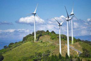 energia odnawialna farma wiatrowa wiatraki