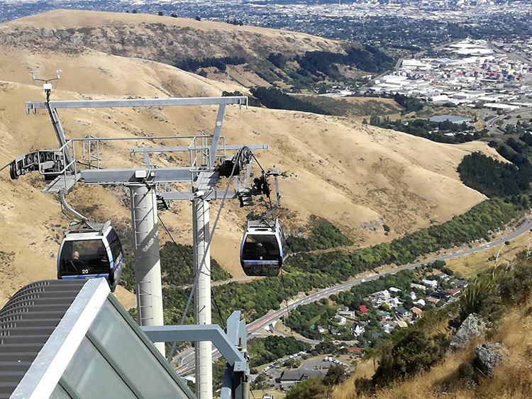 gondola Christchurch Nowa Zelandia ciekawostki